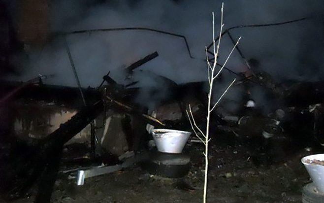 В Абрамцево сгорела женщина